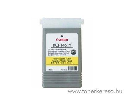 Canon BCI-1451Y eredeti yellow tintapatron 0173B001AA Canon imagePROGRAF W6400P tintasugaras nyomtatóhoz