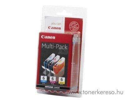 Canon BCI-6CMY eredeti színes tintapatron csomag 4706A022
