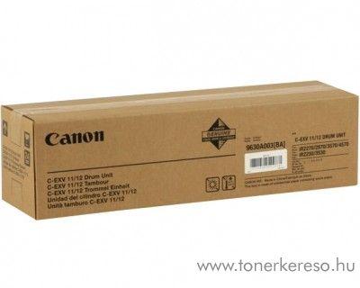 Canon C-EXV11/12 eredeti black drum 9630A003BA Canon iR2870 fénymásolóhoz