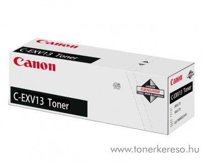 Canon C-EXV13 eredeti fekete black toner 0279B002AA