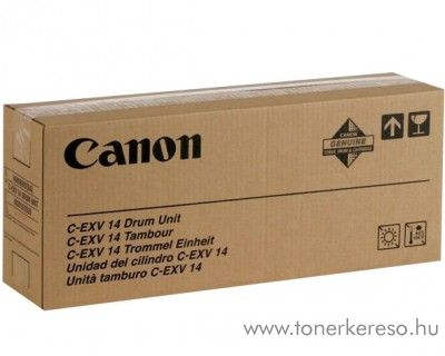 Canon C-EXV14 eredeti black drum 0385B006AA Canon iR2016j fénymásolóhoz