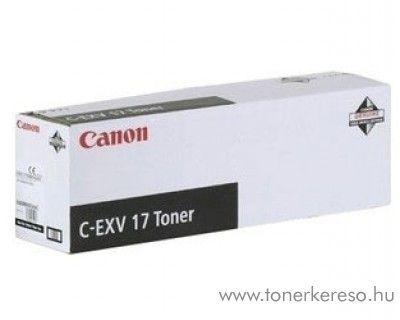 Canon C-EXV17BK eredeti fekete black toner 0262B002AA