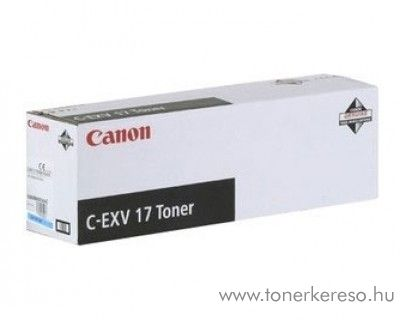 Canon C-EXV17C eredeti cyan toner 0261B002AA