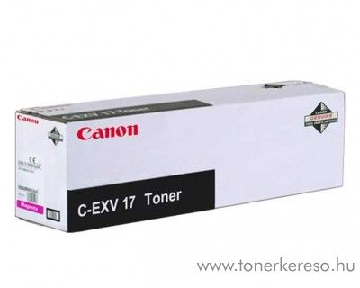 Canon C-EXV17M eredeti magenta toner 0260B002AA