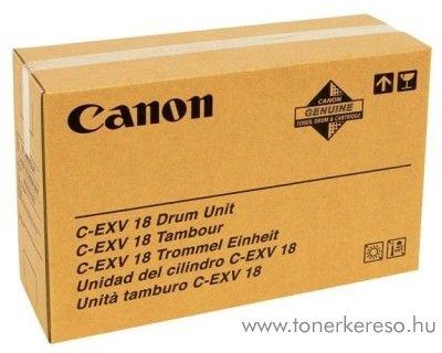 Canon C-EXV18 eredeti black drum 0388B002AA Canon iR1022i fénymásolóhoz