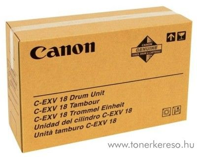 Canon C-EXV18 eredeti black drum 0388B002AA