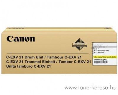 Canon C-EXV21 eredeti yellow drum 0459B002AA Canon iRC3380i fénymásolóhoz