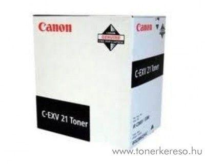 Canon C-EXV21BK eredeti fekete black toner 0452B002AA