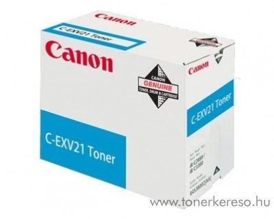 Canon C-EXV21C eredeti cyan toner 0453B002AA Canon iRC3380i fénymásolóhoz