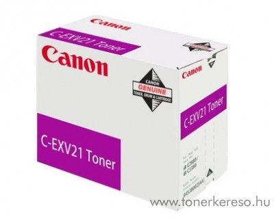 Canon C-EXV21M eredeti magenta toner 0454B002AA Canon iRC3380i fénymásolóhoz