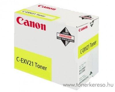 Canon C-EXV21Y eredeti yellow toner 0455B002AA Canon iRC3380i fénymásolóhoz