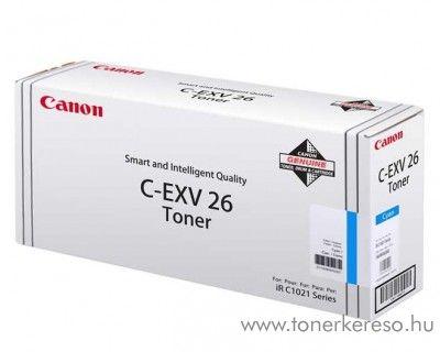 Canon C-EXV26C eredeti cyan toner 1659B006AA Canon IRC1021 fénymásolóhoz