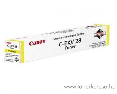 Canon C-EXV28Y eredeti yellow toner 2801B002AA Canon iRC5051 fénymásolóhoz