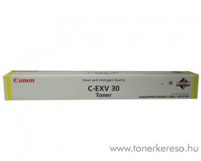 Canon C-EXV30Y eredeti yellow toner 2803B002AA