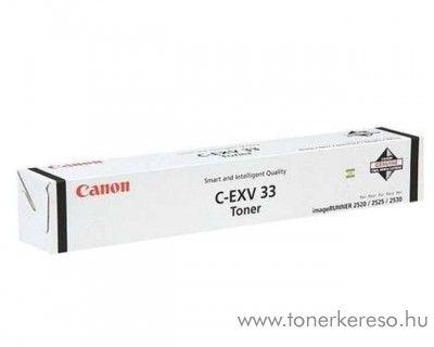 Canon C-EXV33 eredeti fekete black toner 2785B002AA Canon iR2520 fénymásolóhoz