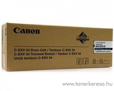 Canon C-EXV34 eredeti black drum 3786B003BA