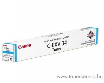 Canon C-EXV34C eredeti cyan toner 3783B002AA Canon iRC2030 fénymásolóhoz