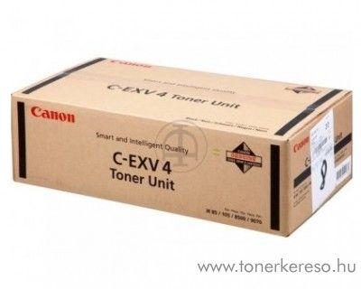 Canon C-EXV4 eredeti fekete black toner 6748A002AA Canon iR85 fénymásolóhoz