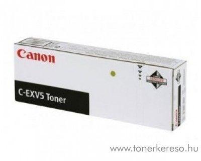Canon C-EXV5 eredeti fekete black toner 6836A002