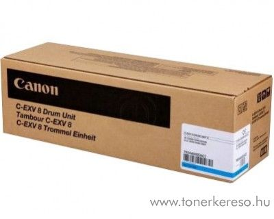 Canon C-EXV8 eredeti cyan drum 7624A002AA