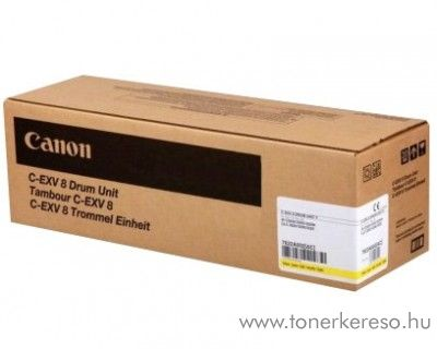 Canon C-EXV8 eredeti yellow drum 7622A002AA