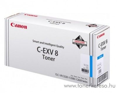 Canon C-EXV8C eredeti cyan toner 7628A002AA