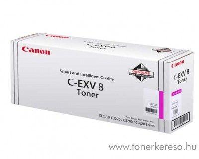 Canon C-EXV8M eredeti magenta toner 7627A002AA Canon iRC3220N fénymásolóhoz