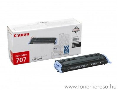 Canon Cartridge 707 Bk lézertoner Canon i-SENSYS LBP5100 lézernyomtatóhoz