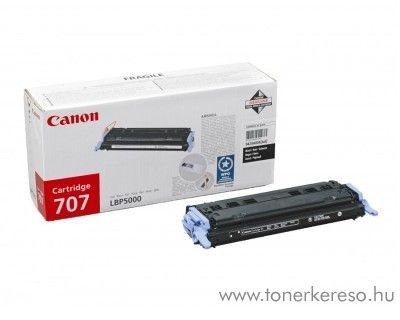 Canon Cartridge 707 Bk lézertoner