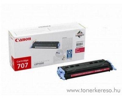 Canon Cartridge 707 M magenta lézertoner Canon i-SENSYS LBP5100 lézernyomtatóhoz