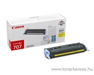 Canon Cartridge 707 Y yellow lézertoner