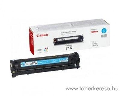 Canon Cartridge 716 Cyan lézertoner Canon LBP-5050 lézernyomtatóhoz