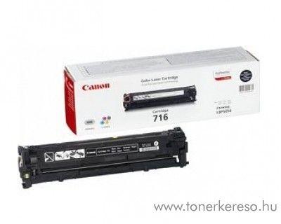 Canon Cartridge 716 Fekete lézertoner Canon i-SENSYS MF8040Cn lézernyomtatóhoz