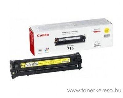 Canon Cartridge 716 Yellow lézertoner Canon LBP-5050 lézernyomtatóhoz