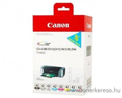 Canon CLI-42MP eredeti multipack tintapatron csomag 6384B010 Canon PIXMA PRO-100S  tintasugaras nyomtatóhoz