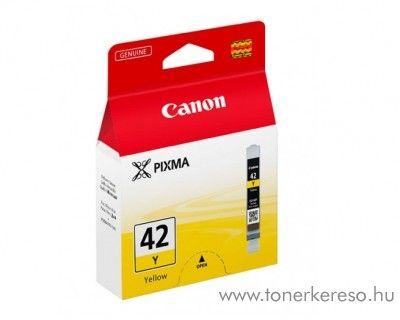Canon CLI-42Y eredeti yellow tintapatron 6387B001