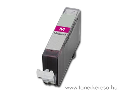 Canon CLI-526M magenta utángyártott tintapatron chipes OP Canon PIXMA MG6150 tintasugaras nyomtatóhoz