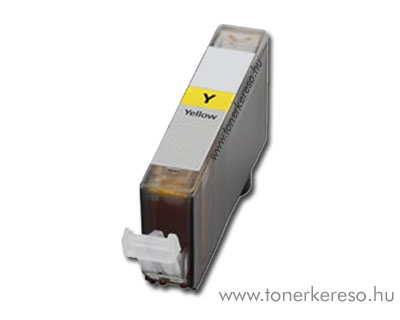 Canon CLI-526Y yellow utángyártott tintapatron chipes OP Canon PIXMA MG6250 tintasugaras nyomtatóhoz