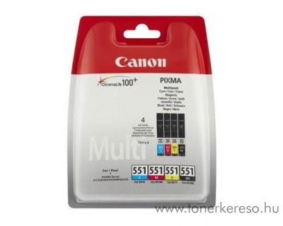 Canon CLI 551BkCMY multipack