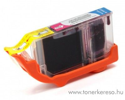 Canon CLI-8 magenta utángyártott tintapatron chipes Canon PIXMA iP5300 tintasugaras nyomtatóhoz