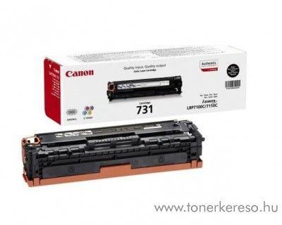 Canon CRG-731BK eredeti fekete black toner 6272B002