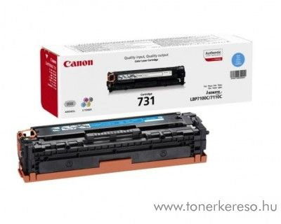 Canon CRG-731C eredeti cyan toner 6271B002