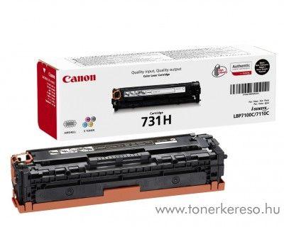 Canon CRG-731HBK eredeti high fekete black toner 6273B002  Canon i-SENSYS MF628Cw lézernyomtatóhoz