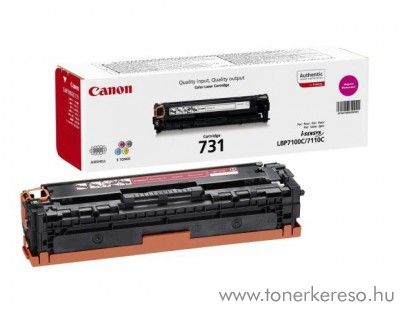 Canon CRG-731M eredeti magenta toner 6270B002  Canon i-SENSYS MF623Cn lézernyomtatóhoz