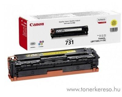 Canon CRG-731Y eredeti yellow toner 6269B002 Canon i-SENSYS MF8230Cn lézernyomtatóhoz