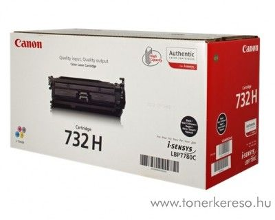 Canon CRG-732HBK eredeti high fekete black toner 6264B002