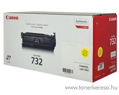 Canon CRG-732Y eredeti yellow toner 6260B002 Canon i-Sensys LBP7780CX lézernyomtatóhoz