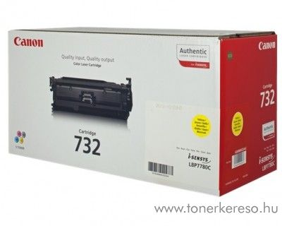 Canon CRG-732Y eredeti yellow toner 6260B002