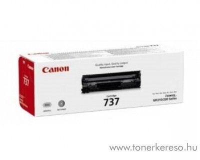 Canon CRG-737BK eredeti fekete black toner 9435B002 Canon i-SENSYS MF212w lézernyomtatóhoz
