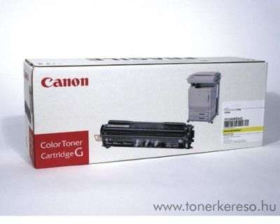 Canon EP-82Y eredeti yellow toner 1512A003